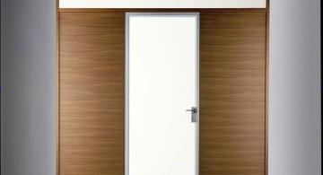 modern glass door for entrance