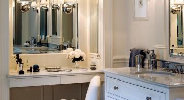 modular skirted vanity stool