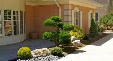 oriental garden design for small front yard