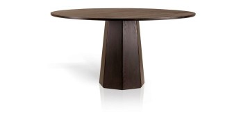 simple dark woods pedestal table base ideas