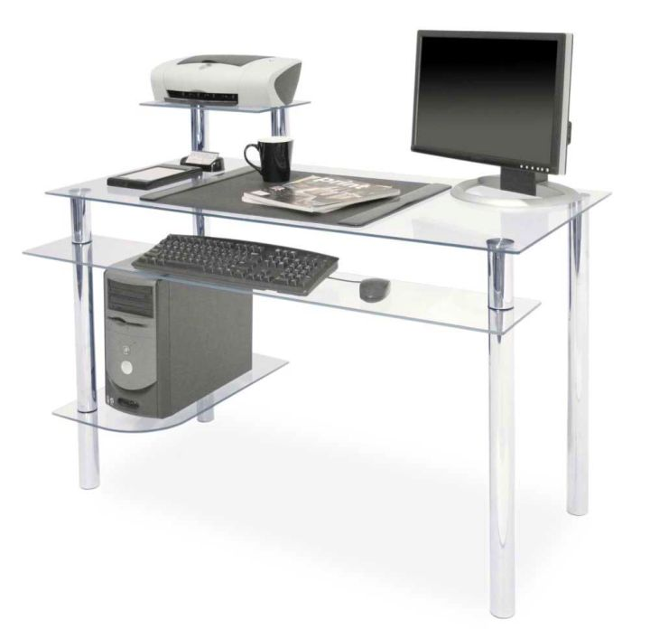 Gallery For Clear Office Desk Designs