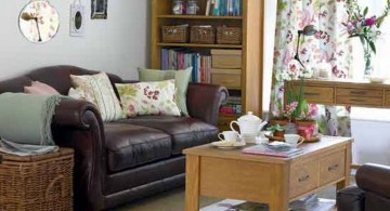 small living room ideas with plush sofa