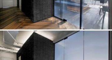 st petersburg loft glass door detail
