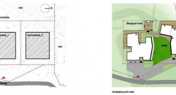 two villas plot land