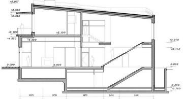 two villas side plan