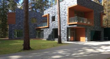 two villas  side view