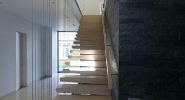 two villas staircase
