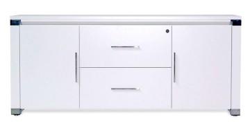 white lacquer credenza 15