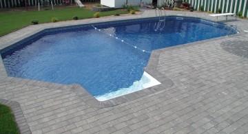 Grecian lazy l pool designs