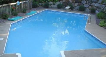 Grecian lazy l pool designs for small yard