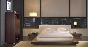 Zen inspired modern asian bedroom