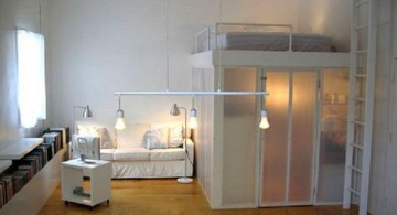 Adult Loft Beds with Desk for Spacious Rooms