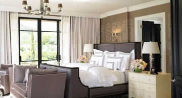 bachelor bedroom decorating ideas in purple and white