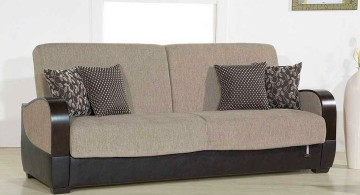 convertible bed designs in grey and black