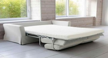 convertible bed designs in white