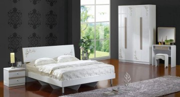 cool modern bedrooms with classy wallpapers