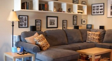floating elegant wall shelves