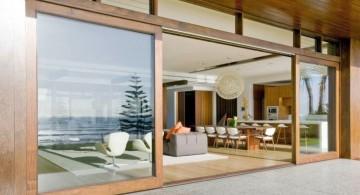 large modern sliding glass door designs