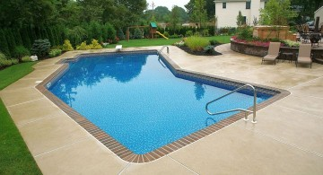 lazy l pool designs for summer houses