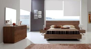 minimalist cool modern bedrooms