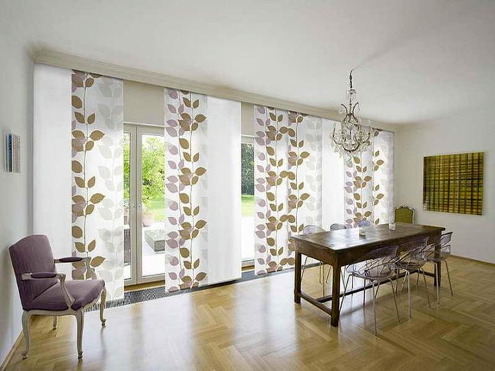 20 Hassle Free Zen Dining Room Decorating Ideas: Minimalist Modern Sliding Glass Door Designs