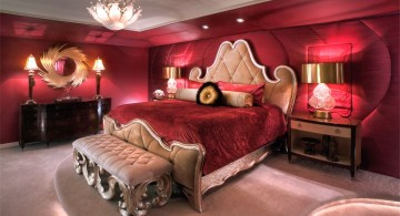 most romantic bedrooms in pink and purple