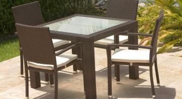 outdoor zen dining rooms