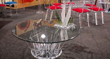 round acrylic coffee tables