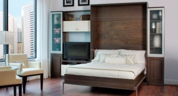 simple contemporary murphy bed couch ideas