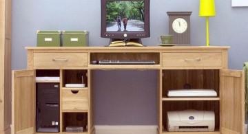simple hideaway desk designs