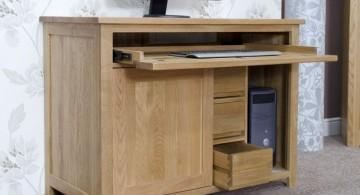 simple hideaway desk designs for home computer