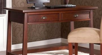 simple minimalist hideaway desk designs