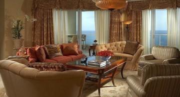 tuscan living room colors in beige