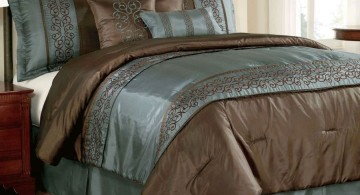 tuscany bedroom furniture in blue and black
