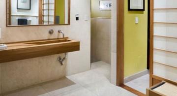 urban and minimalist Japanese bathroom designs